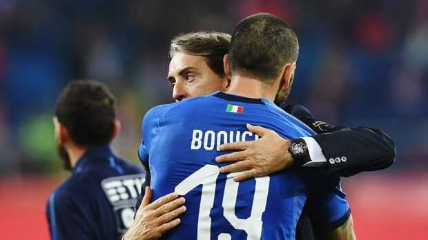 Бонуччи не поможет Италии в матчах с Польшей и Боснией и Герцеговиной