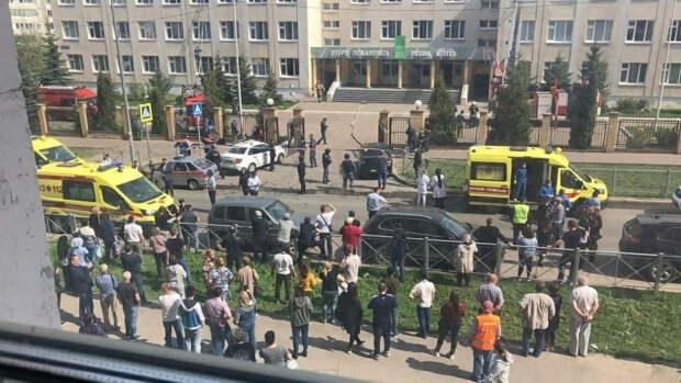 Власти Татарстана организуют похороны жертв трагедии в казанской школе