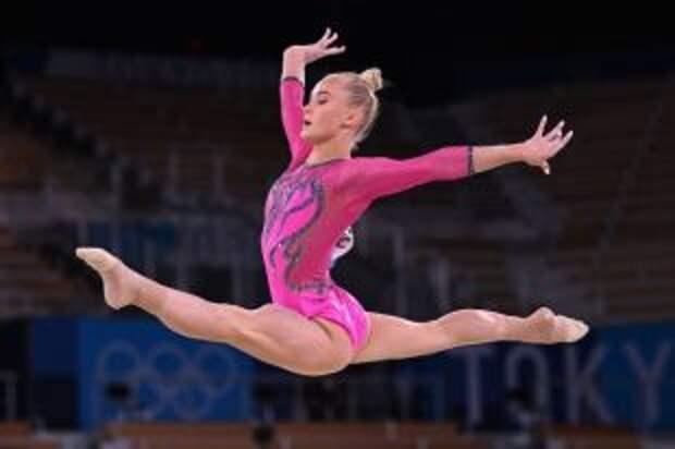 Гимнастка Мельникова выиграла бронзу на Олимпиаде в Токио