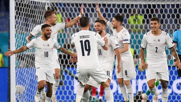 Италия обыграла Швейцарию в матче Евро-2020