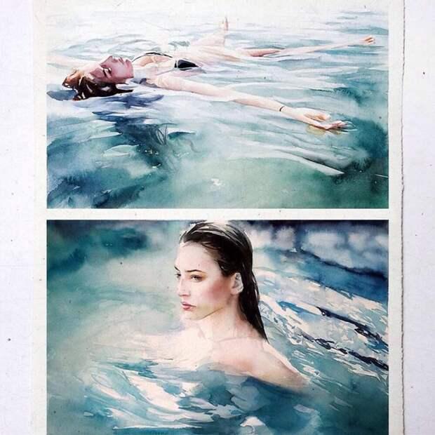 27 потрясающе реалистичных картин акварелью отхудожника Маркоса Беккари