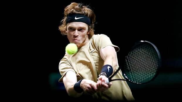Рублев: «Знаю свои позиции в гонке и в рейтинге ATP»