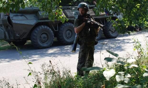 ДНР: ополченцы блокировали две крупные группировки украинских военных