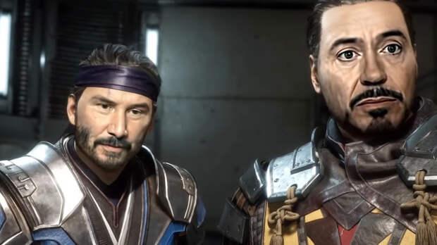 Джона Уика и Железного человека в Mortal Kombat 11 показали на видео