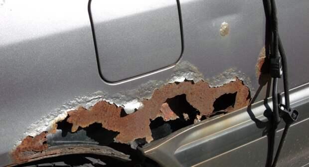 Как защитить кузов авто от ржавчины