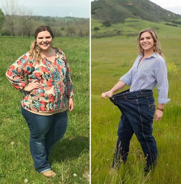 Женщина похудела за год на 65 кг, благодаря тому, что следовала 5 простым правилам