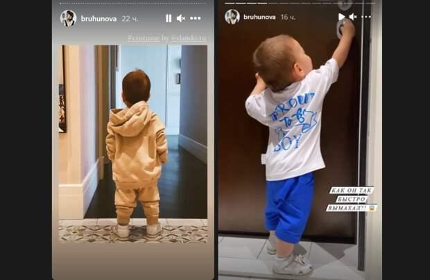 «Вымахал»: Брухунова показала подросшего сына от Петросяна