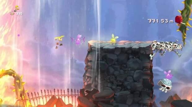 Rayman Legends – Погоня за шкатулками, Земля покойников