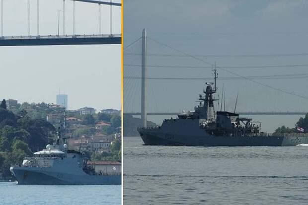 Британцы высмеяли заход корабля королевского флота в Черное море