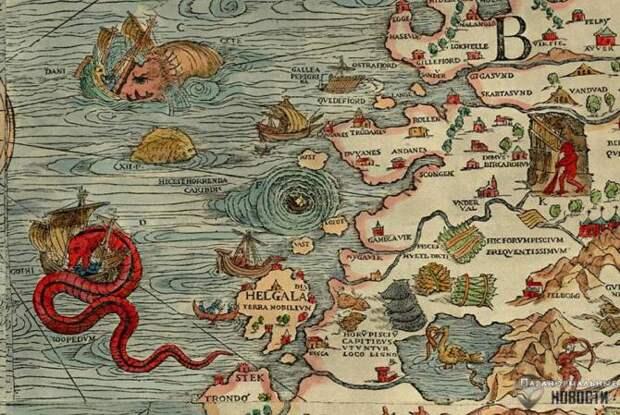 Океаны, полные фантастических чудовищ