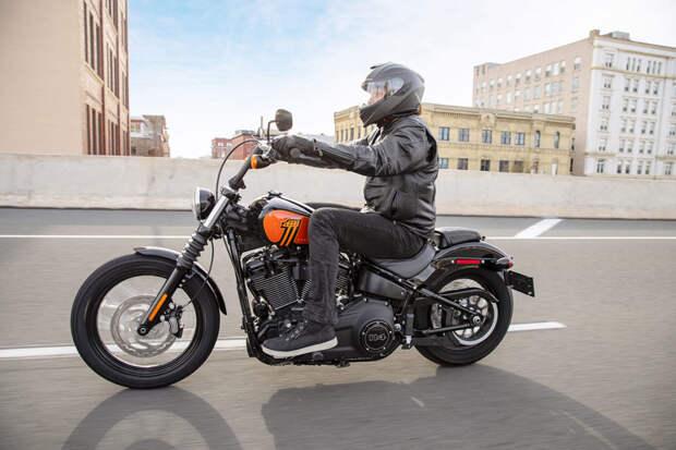 114-й мотор и «сухая» рама: чего ждать от боббера, Harley-Davidson Street Bob