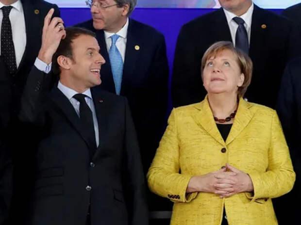На Украине призвали Париж и Берлин к ответу за потерю Крыма