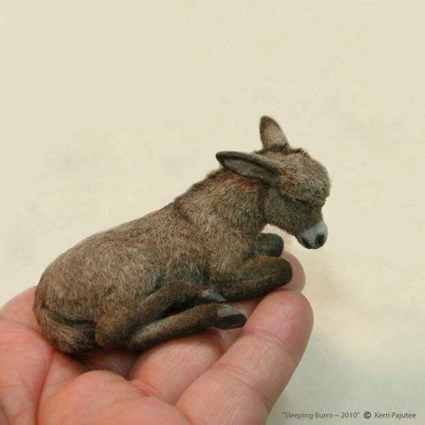 Крохотные фигурки животных, которые неотличны от живых: невероятные идеи