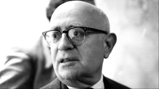 Теодор Адорно. Один из создателей теории авторитарной личности. Фото из открытых источников