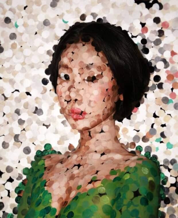 Девушка из Кореи создаёт макияжи-иллюзии, которые заставят вас сомневаться в реальности происходящего