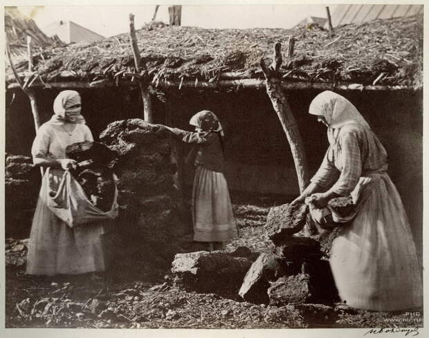 Заготовка кизяка | Фото: Иван Болдырев