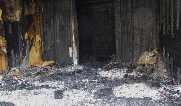 В Бугурусланском районе на пожаре погиб человек