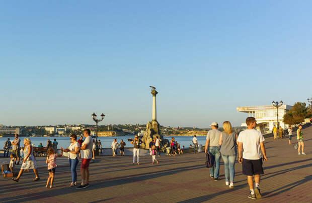 В Крыму сравнили туристов из России и Украины