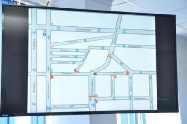 В Шымкенте временно будет ограничено движение транспорта по улице Рыскулова