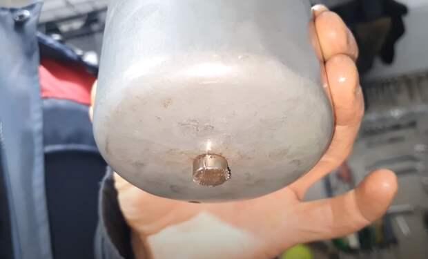 Креплю неодимовый магнит на топливный фильтр. Рассказываю зачем я это делаю и как попал на деньги