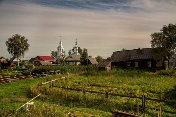 Снится мне деревня...
