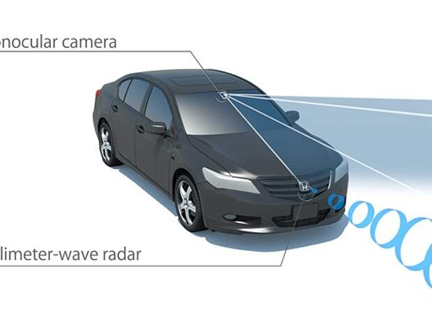 Honda Legend получит новую систему помощи водителю
