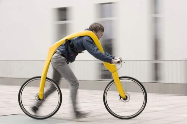 Велосипед не для езды, а для полета