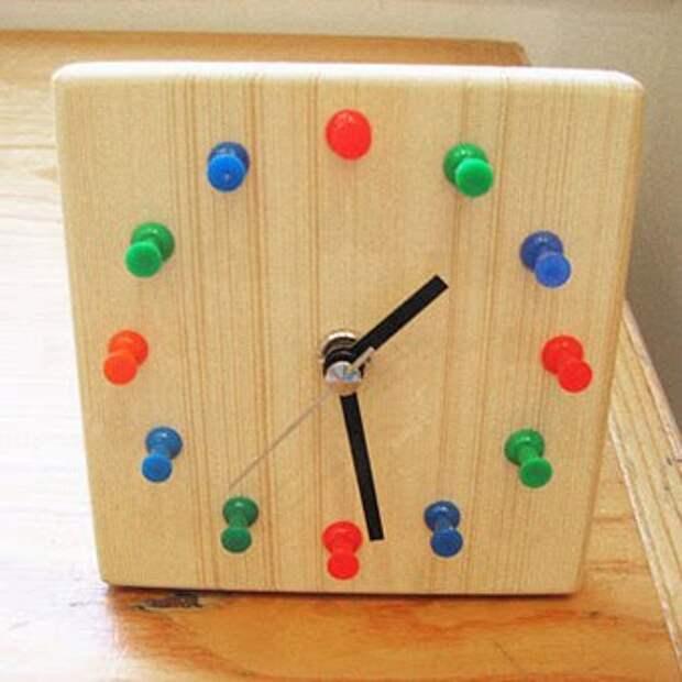 сделаем оригинальные часы своими руками за полчаса
