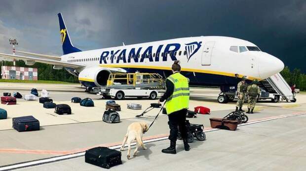 За инцидент с рейсом Ryanair в Минске Запад хочет наказать Россию
