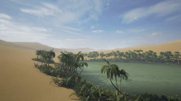 Что такое оазис в пустыне, как он образуется