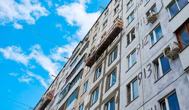 Почти 100 фасадов жилых домов приведут в порядок на юго-востоке Москвы
