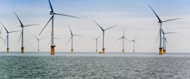В США построят первый морской ветропарк промышленных размеров на 800 МВт