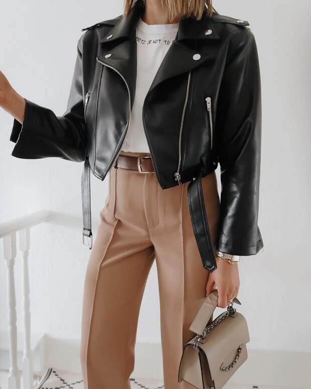 20+ стильных и роскошных примеров с чем носить кожаные вещи весной