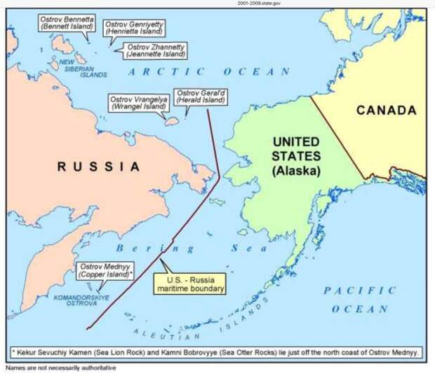 Зачем Горбачёв подарил США часть акватории СССР в северных морях, и что говорит об этом Госдума РФ сегодня...