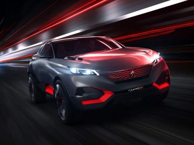 Peugeot и Citroen показали кроссовер, седан и хэтчбек будущего
