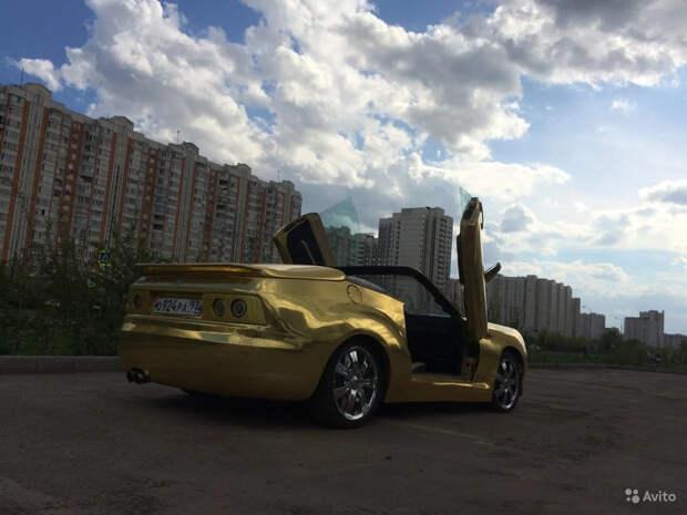 Берегите глаза: в Москве продают самый уродливый Porsche 924 в мире