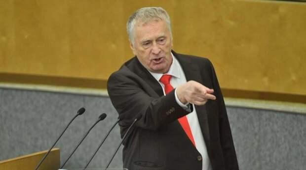 Жириновский предложил расширить список недружественных стран