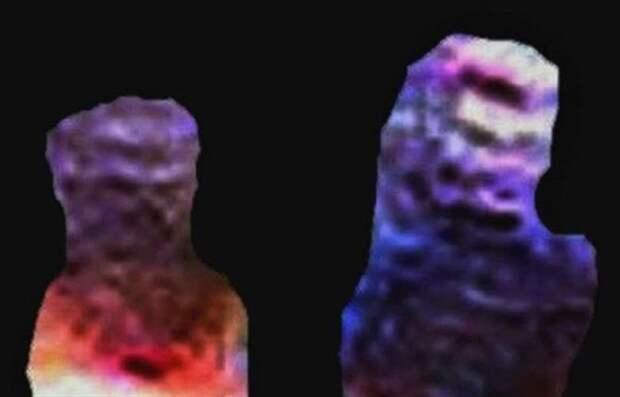 Британец утверждает, что сфотографировал двух инопланетян