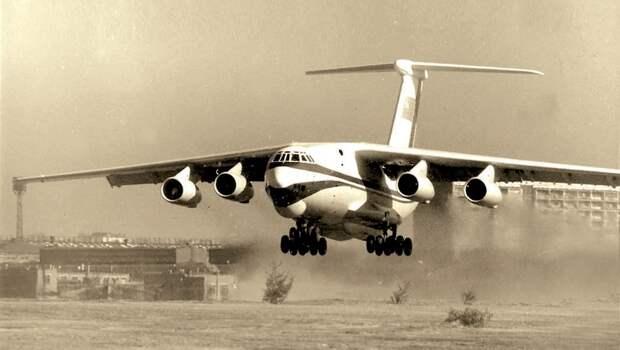 авиация ссср, транспортный самолет, самолет ил-76