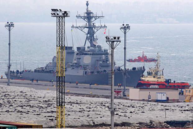 Carney DDG64 в Одесском порту