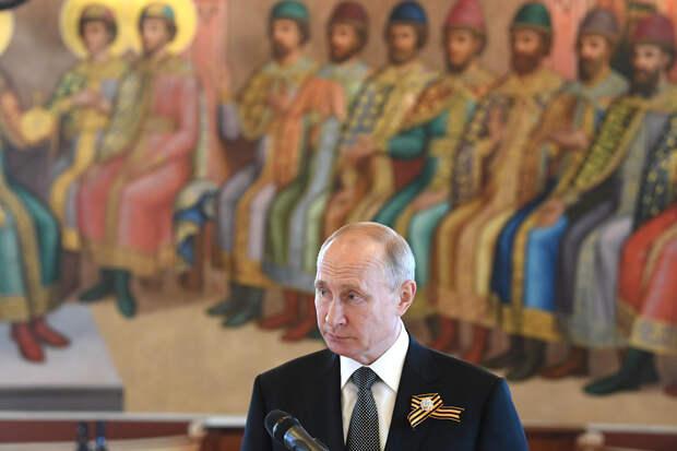 Путин не стал поздравлять с Днём Победы лидеров Украины и Грузии