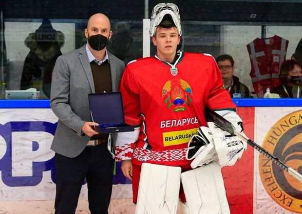 Голкипер ХК «Северсталь» помог сборной Белоруссии разгромить австрийцев