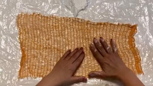 Сетка из под овощей: необычайно удивительная идея ее использования