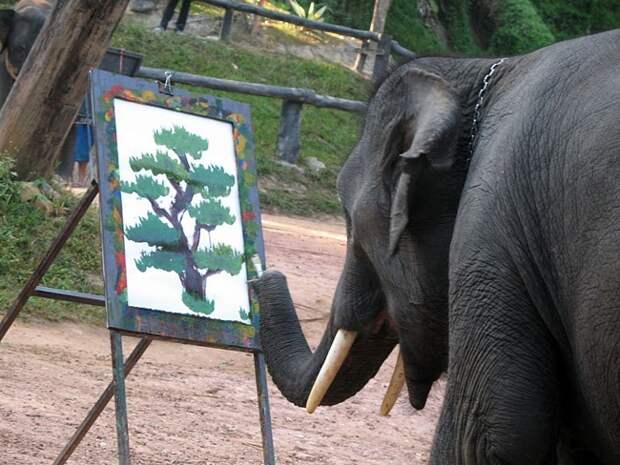 """Слоник рисует """" FoxyHome - море позитива"""