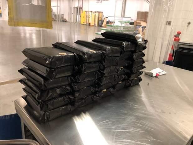 В Канаде изъяли партию кокаина стоимостью 3,5 млн долларов