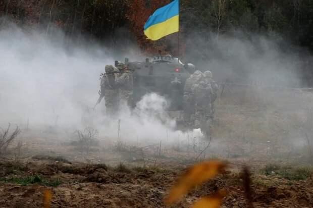 Чёрная метка: на Западе опубликовали фото учений ВСУ, как грузинской армии накануне 08.08.08