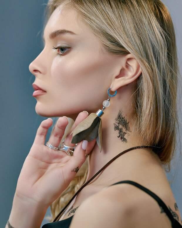 Хит лета — парфюмированные татуировки