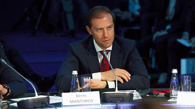 Денис Мантуров о санкциях, импортозамещении и проекте Aurus