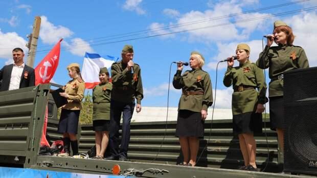 В рамках акции «Фронтовая бригада» руководство Бахчисарайского района поздравили участников Великой отечественной войны