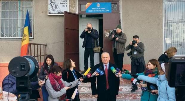 Выборы вМолдавии: Додон верит вбудущее этой страны